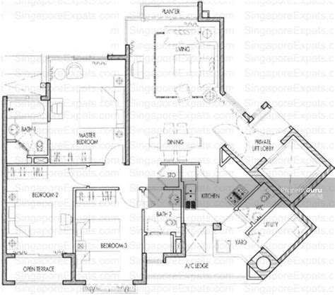 floor plan caribbean at keppel bay at 42 keppel bay caribbean at keppel bay 30 keppel bay drive 3 bedrooms