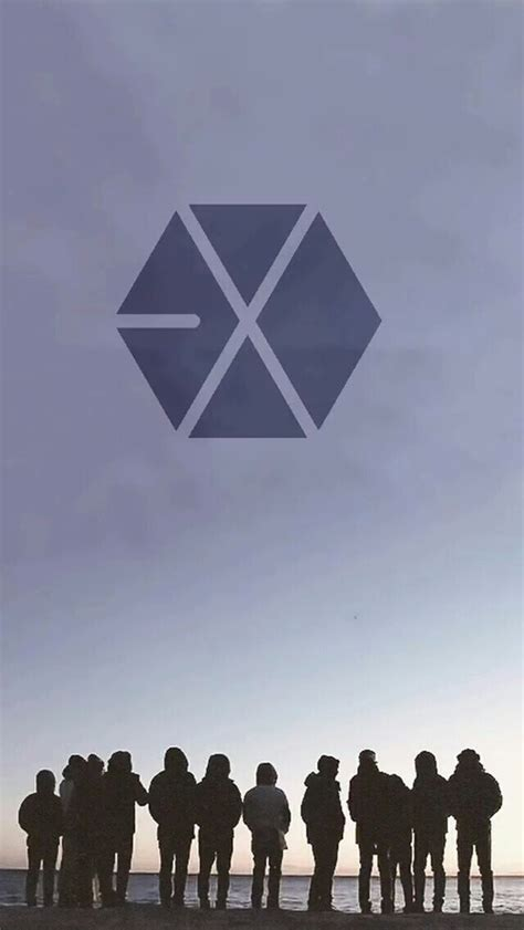 exo logo iphone wallpaper exo logo phone wallpaper 2017 kpop wallpaper kpop