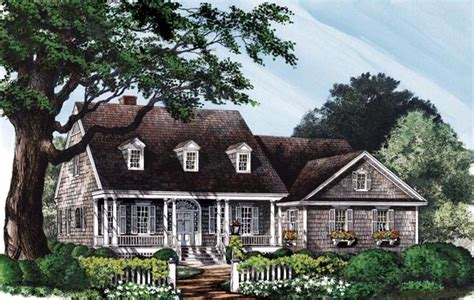 colonial cottage house plans colonial cottage country southern house plan 86141