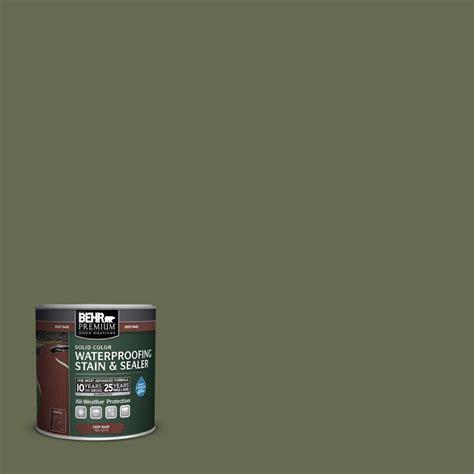 behr premium  oz sc  sagebrush green solid color
