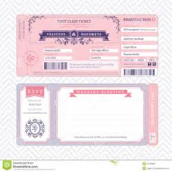 free boarding pass invitation template boarding pass wedding invitation template stock vector