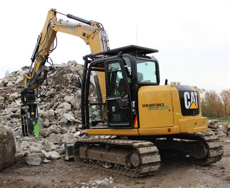 excavator equipment rentals attachment part rentals