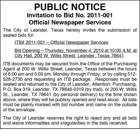 name a section of the newspaper booking public notices and tender ads in any indian
