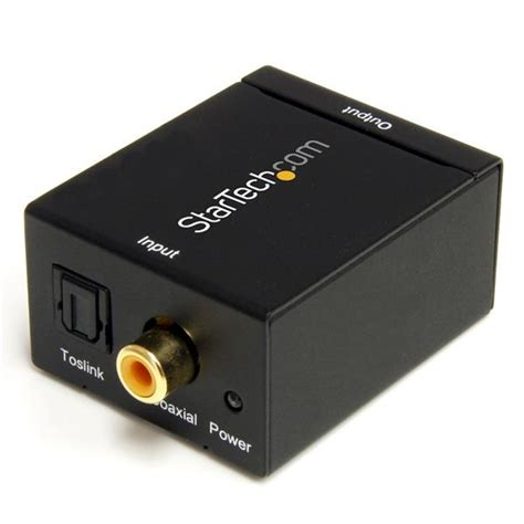 Galerry spdif to rca converter toslink optical spdif to rca