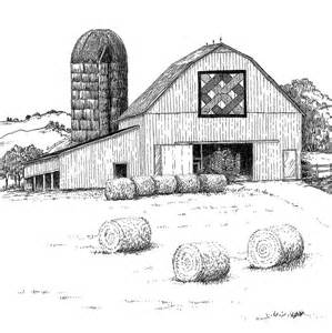 drawings of barns beth dix embroidery and quilting 2011 appalachian