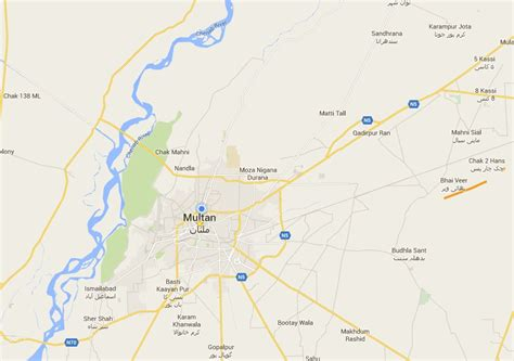 sukkur map bahria town multan location map where will be real