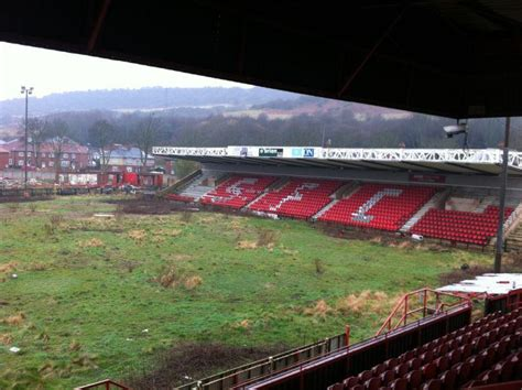 the abandoned football stadium of scarborough fc
