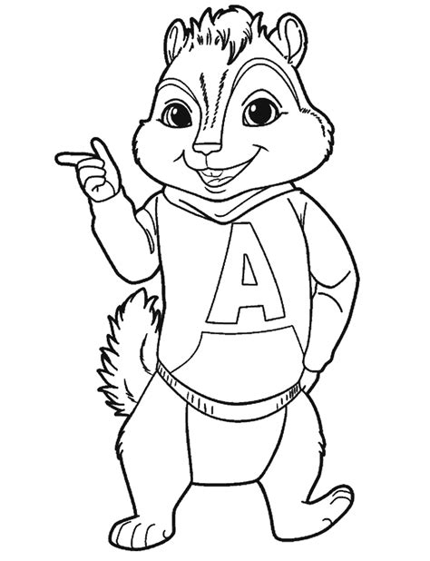 printable poster to color 7 awesome alvin and the chipmunks colouring page websites