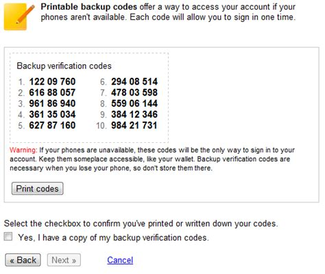 verification code add more security to your account using 2 step