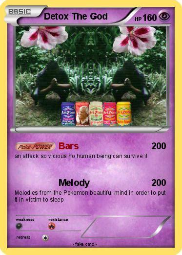 Detox The Kid by Pok 233 Mon Detox The Kid Bars My Card