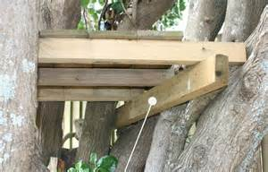 build a treehouse with school holiday projects