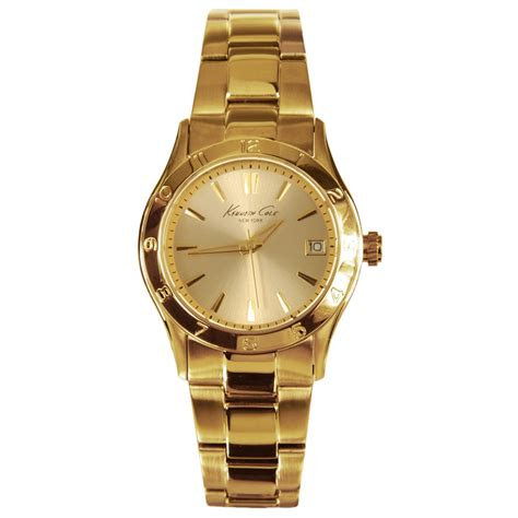 kenneth cole classic gold womens kc4934