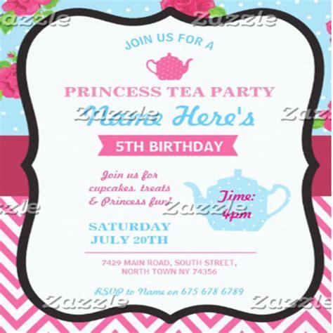 princess tea invitation template free 9 tea invitation templates free