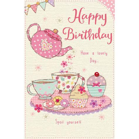 Tea Birthday Card