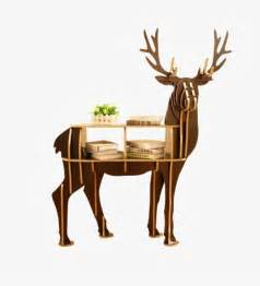 Deer Table 50 Unique End Tables That Add The Living Room Finish