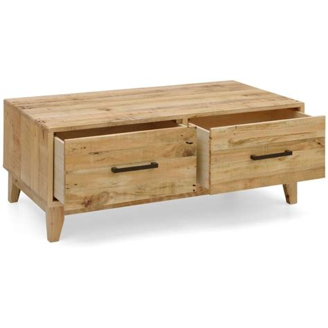 Pine Coffee Table With Drawers Portland Recycled Pine Coffee Table With 2 Drawers Buy Coffee Tables