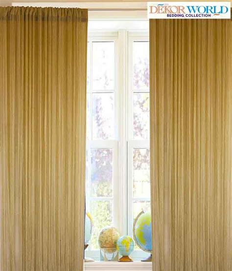cream string curtains dekor world stunning cream string curtain buy dekor