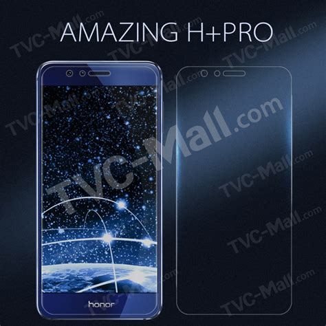 Tempered Glass Nillkin Huawei Honor 8 Amazing H nillkin amazing h pro for huawei honor 8 tempered glass screen nanometer anti explosion tvc