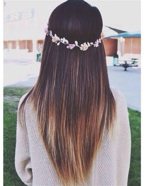ombre hairstyles for long straight hair 27 cute straight hairstyles new season hair styles