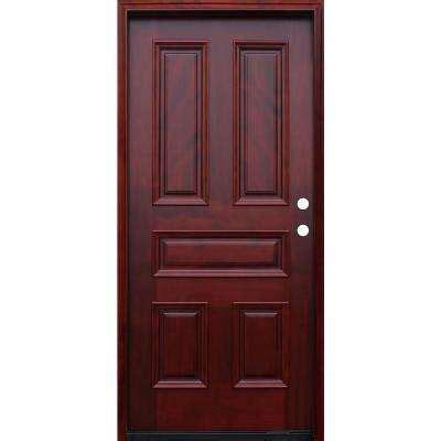 Six Panel Exterior Wood Doors by 36 X 80 5 Panel Doors Without Glass Wood Doors The