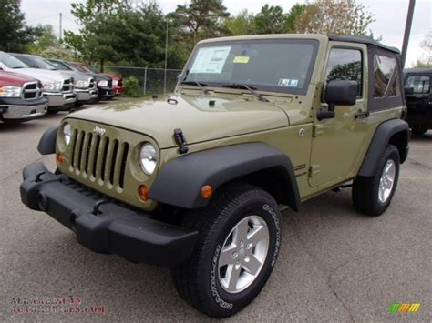commando green jeep 2013 jeep wrangler sport s 4x4 in commando green photo 2