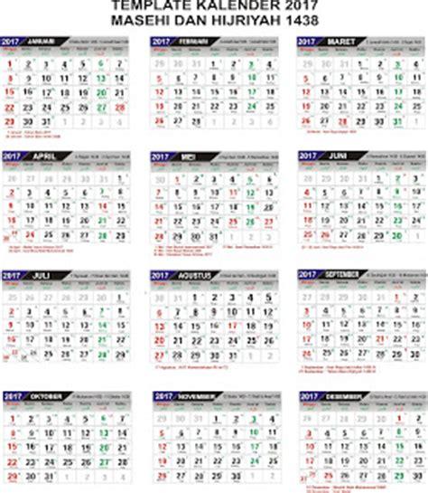 Kalender 2018 Resolusi Besar Kalender 2017 Format Cdr Dan Pdf Lengkap Dengan