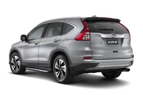 Ring Fog L Chrome Honda Hr V Model A honda introduces feature added cr v limited edition