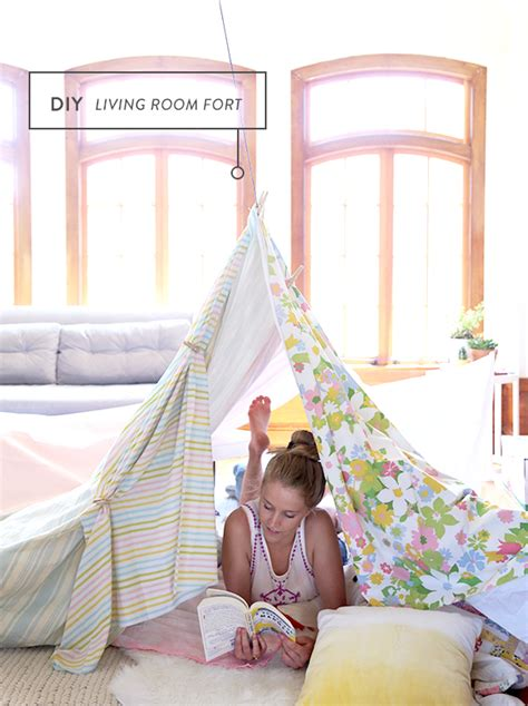 how to make a fort in your room how to build a living room fort say yes