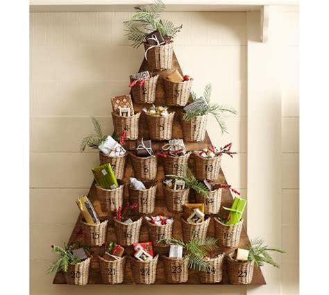 tree advent calendar pottery barn