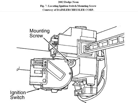 2002 dodge neon ignition wiring diagram efcaviation