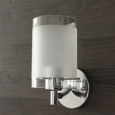 Chrome Indoor Wall Lights Modern Silver Chrome Single Indoor Wall Light