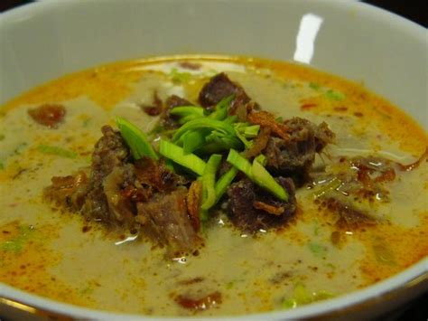resep membuat soto ayam kuah santen indonesian soto daging recipe indonesia pinterest