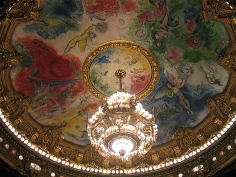 Chagall Ceiling by Chagall S Ceiling At The Opera House