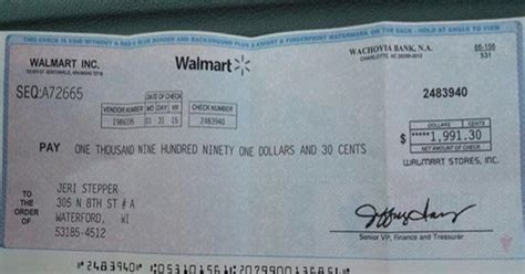 Walmart Background Check Policy Scammers Sending Fraudulent Walmart Check