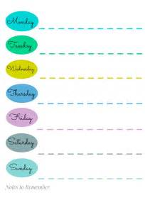weekly calendar template 2014 sunday to saturday weekly calendar template search