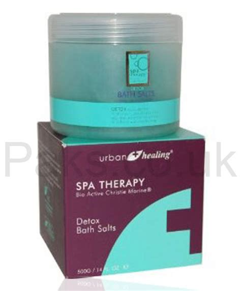 Detox Therapy Bath Salts by Bathing Spa Therapy Detox Bath Salts Pakcosmetics