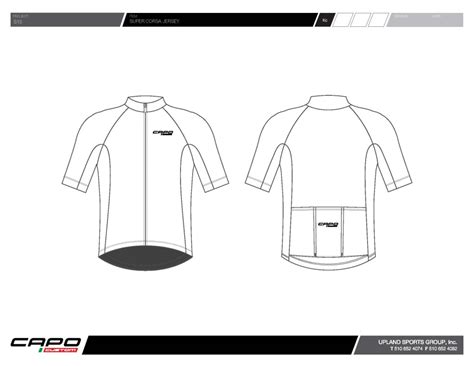 Win Custom Cycling Kit From Capo Cycling Cyclist Australia Nz Cycling Jersey Design Template