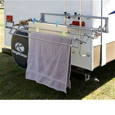 clothes drying rack for the rv cing rv