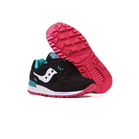 saucony shadow 5000 black teal pink s shoes s70033