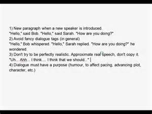 How To Write Dialogue In An Essay by Creative Writing Dialogue
