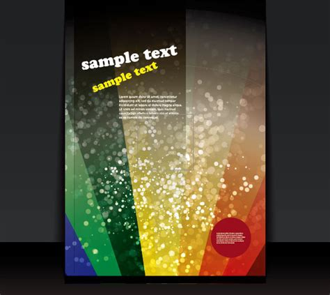 cover design elements brochure cover design elements vector graphic set free