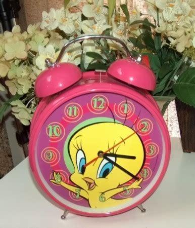tweety bird looney tunes jumbo bell alarm clock looney