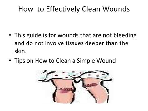 how to clean a wound how to properly clean a simple wound