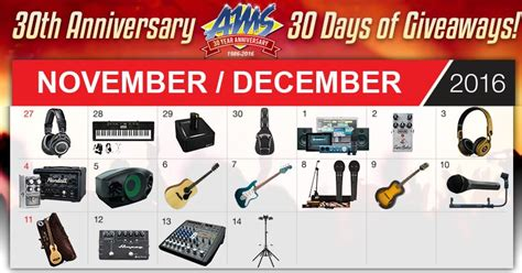 American Musical Supply Giveaway - coupons and freebies american musical supply holiday giveaway 30 winners win