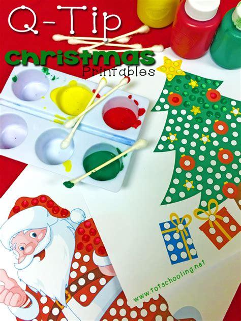 preschool painting free q tip painting printables totschooling