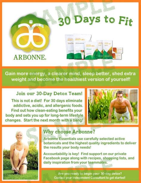 Fit Detox Fit Guide by 113 Best Images About Arbonne 30 Days On