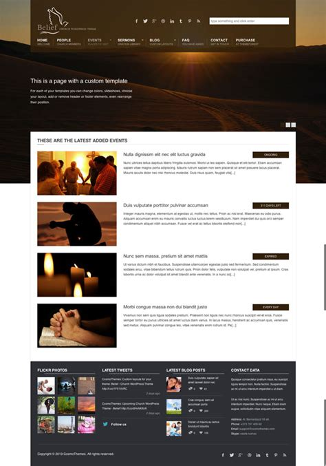 30 best church wordpress themes webdesignerhub com
