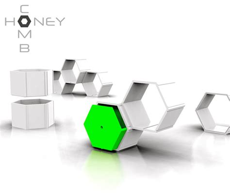 design concept furniture honeycomb modular furniture system by nyadadesign tuvie