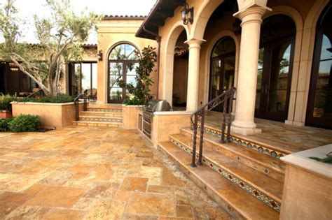 mediterranean villa mediterranean wall and floor tile los angeles by royal stone tile