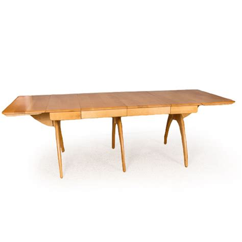 heywood wakefield butterfly dining table heywood wakefield butterfly drop leaf dining table m197g